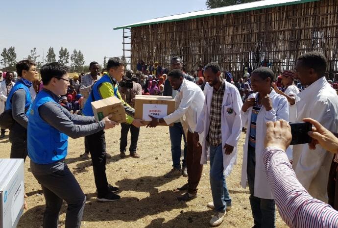 대성에너지, 에티오피아 발쿠메초등학교에 새 교실 신축 후원 사회공헌 활동 사진