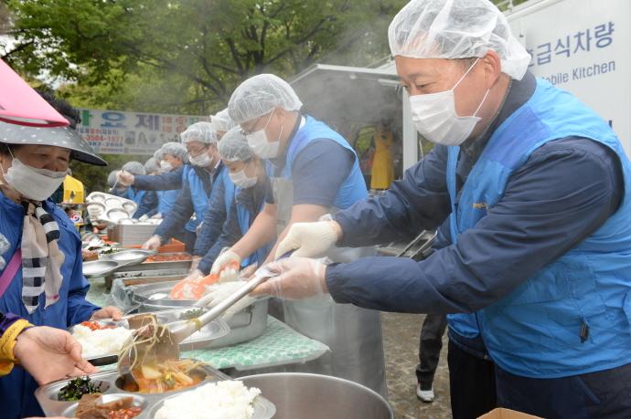 대성에너지, 행복한 밥상 급식봉사 펼쳐 사회공헌 활동 사진